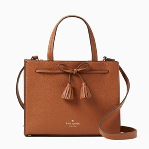 NWT Kate Spade Hayes small satchel